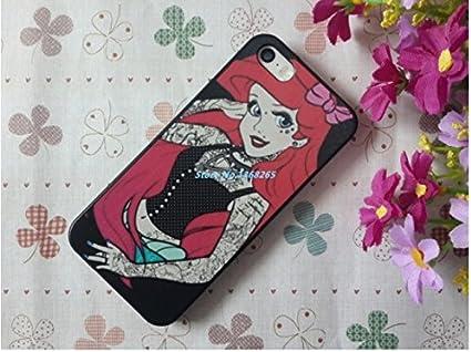 coque rigide pour iphone 5 / 5s Ariel la petite sirène: Amazon.fr ...