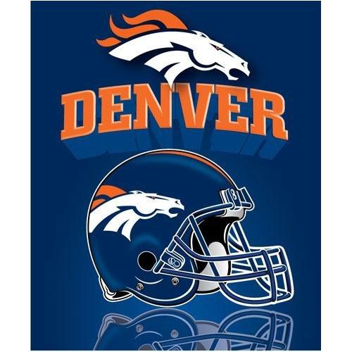 Denver Broncos Fleece Blanket - Broncos Fleece Blanket