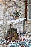 Cheap Industrial 60 inch White Farmhouse Sofa Table