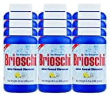 Brioschi Effervescent 8.5oz (12 Bottles) The Original Lemon Flavored Italian Effervescent 12 bottles