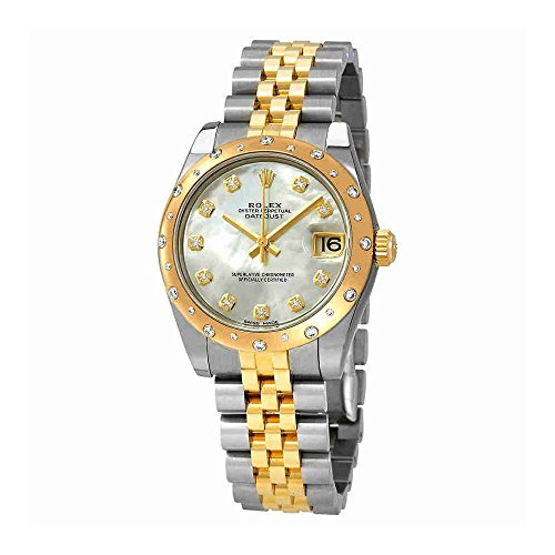 - Rolex Datejust Lady 31 Mother of Pearl Dial Stainless Steel and 18K Yellow Gold Jubilee Bracelet Automatic Watch 178343MDJ