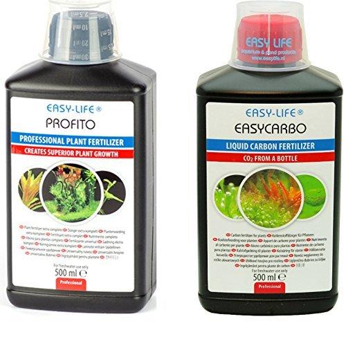 Fertilisant pour Plante Engrais Source de Carbone Easycarbo & Profito 500Ml * Pack 2 * Easy-Life