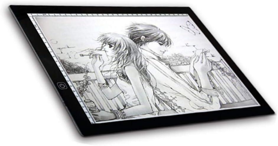 Zeichentisch Kalligraphie SOULONG A3 LED Tisch Tisch Luminoso Design LED Tracing Board f/ür K/ünstler Animation Tattoo Architektur