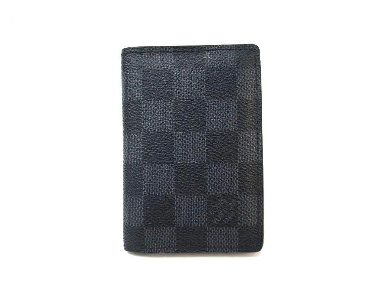 (ルイヴィトン) LOUIS VUITTON カードケース 名刺入れ オーガナイザードゥポッシュ ダミエグラフィット N63210 B00OWA26S8
