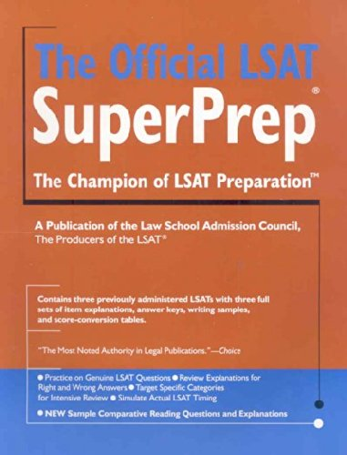The Official LSAT SuperPrep., 2007 edition(Two thousand seventh edition).