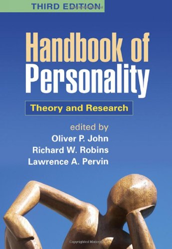 Handbook of Personality, Third Edition: Theory and - Oliver Peoples Dallas