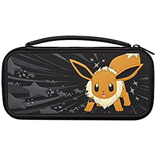 PDP Nintendo Switch Eevee Greyscale Travel Case, 500-154 - Nintendo Switch