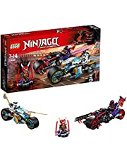 LEGO Ninjago Street Race of Snake Jaguar 70639 Playset Toy