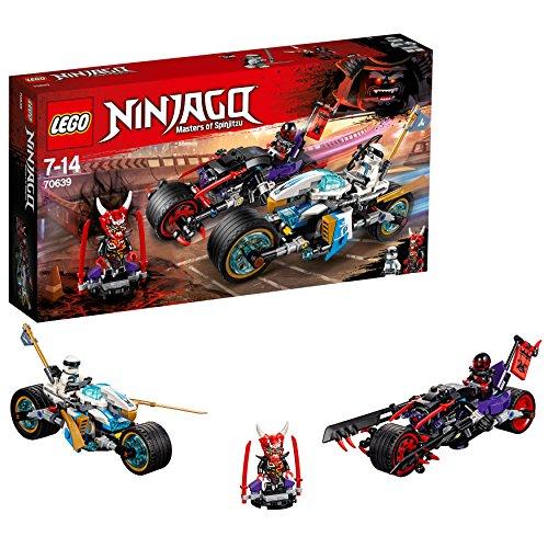 LEGO Ninjago 70639 - Straßenrennen des Schlangenjaguars