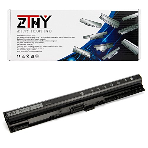 ZTHY Compatible M5Y1K Laptop Battery Replacement DELL Inspiron 3451 3551 3458 3558 5558 5758 5555 5551 Vostro 3458 3558 Inspiron 14 15 3000 5000 Series Notebook 14.8V 40WH by ZTHY