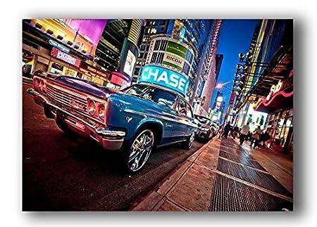 Arter Arte Impreso Lienzo Cartel Mural, Nueva York Taxi ...