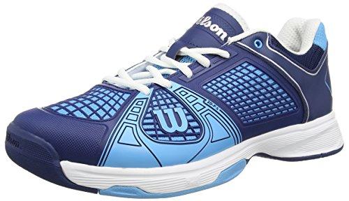 Wilson Rush Ngx, Scarpe da tennis Uomo Multicolore (Maritime Blue Wilson /Marine Navy Wilson/White)