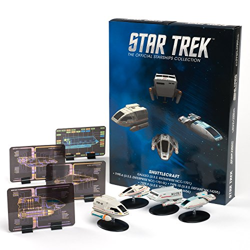 Star Trek Eaglemoss Replica Ships: Shuttlecraft 4-Pack