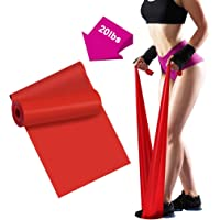Resistance Bands - 2m/6.5ft Professional Latex Elastic Bands for Home or Gym Upper & Lower Body Exercise, Physical…