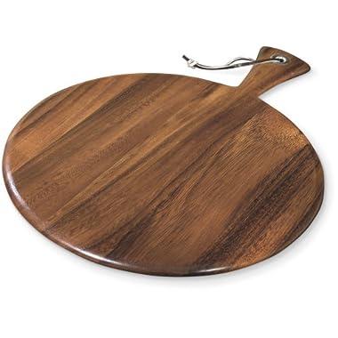 Round Paddle Board, Acacia Wood