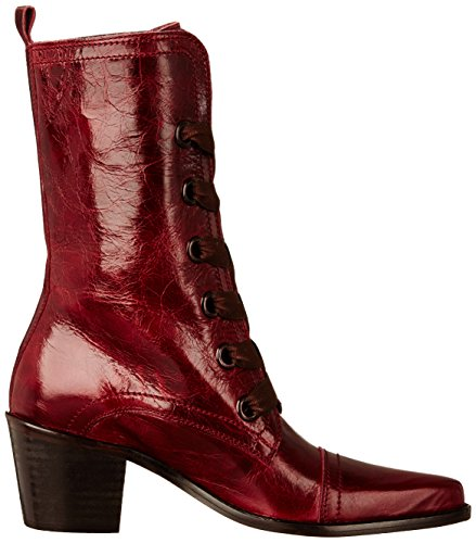 Stéphane Gontard Bastide - Zapatos de Cordones mujer Rojo - Rouge (Bolero Tanin)