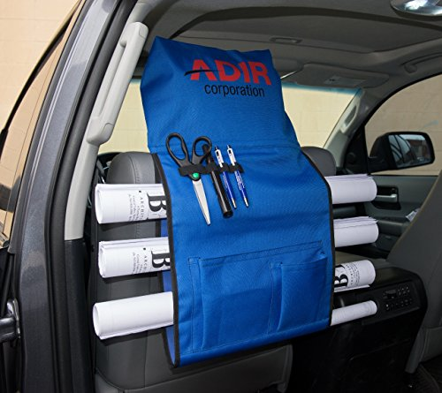 Adir Plans Car Holder, Blueprints Car Holder, Maps Car Holder, Darwings Car Holder, Artwork Car Holder, Posters Car Holder, Document Car Holder - with Pockets