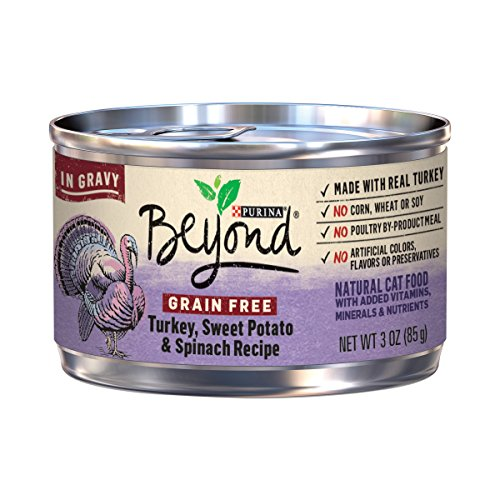 Purina Beyond Grain Free Turkey, Sweet Potato & Spinach Reci