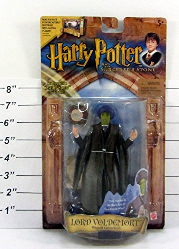 Harry Potter & Sorcerer's Stone Wizard Collection Lord Voldemort Action Figure