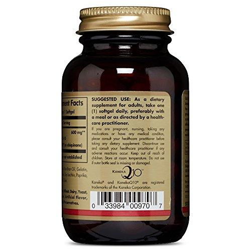 Solgar – Megasorb CoQ-10, 600 mg, 30 Softgels