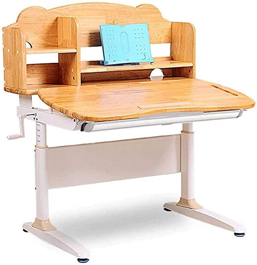 Hammer Los niños Escritorio y Juego de sillas, Ajustable en Altura ...