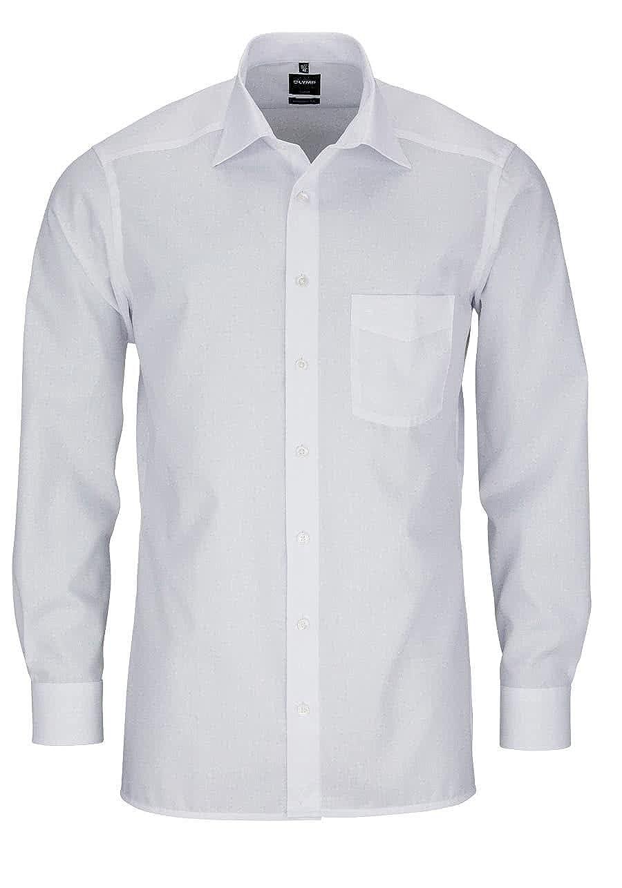 TALLA 42. Olimpo Modern Fit Camisa de Manga Larga Cuello m New Kent