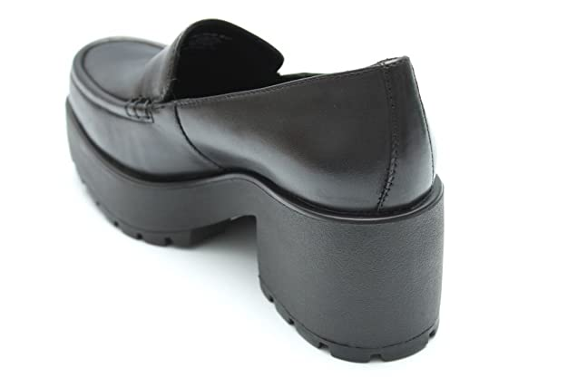7e3b5c8aac2 Vagabond Dioon Womens Black Leather Platform Loafers Shoes Size UK 3 4 5 6  7 8  Amazon.co.uk  Shoes   Bags
