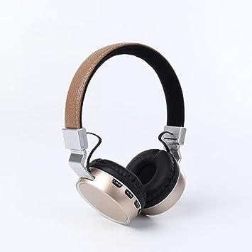 Auriculares Bluetooth Diadema Nuevo 4.2 Protocolo Bluetooth Estéreo Auriculares deportivos sin hilos de la música de