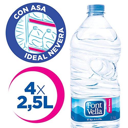 Font Vella Agua Mineral Natural Ideal Nevera - Pack 4 x 2,5 l: Amazon.es: Amazon Pantry