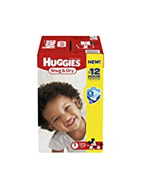 Huggies Snug & Dry Diapers, Size 5, 172 Count (One Month Supply) (Packaging may vary) BOBEBE Online Baby Store From New York to Miami and Los Angeles