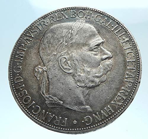 1907 AT 1907 AUSTRIA KING FRANZ JOSEPH I Aquila Genuine P coin Good ()