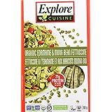Explore Cuisine Organic Edamame and Mung Bean Fettuccine, 6 Count, 1.2 Kg