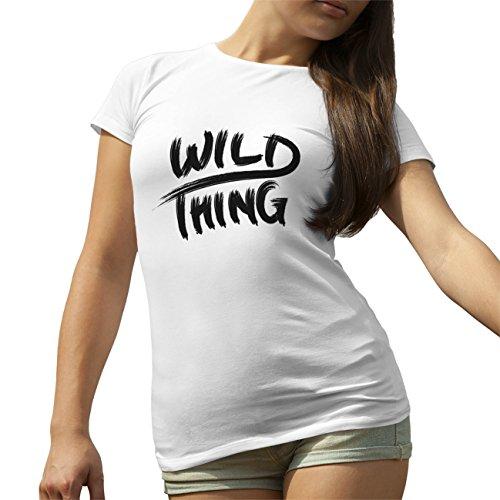 Wild Thing T-Shirt camiseta para la Mujer Blanca