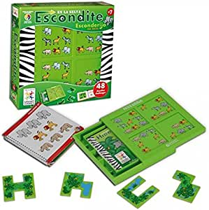 smart games - Escondite en la Selva, Juego de ingenio con