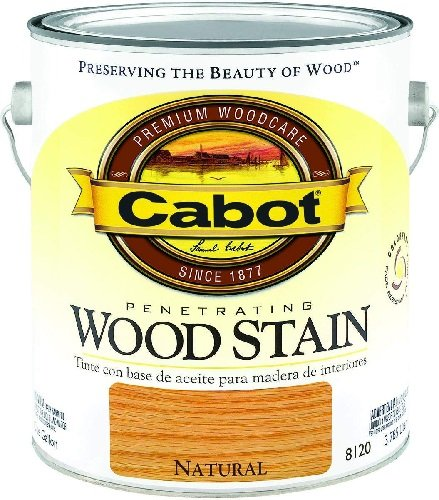 CabotStain Cabot 144-8122 HP 1/2 Pint Fruitwood Interior Oil Wood Stain
