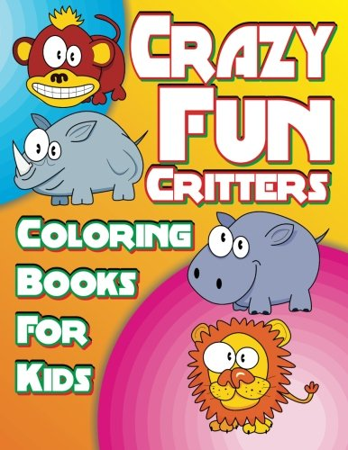 Crazy Fun Critters Coloring Super product image