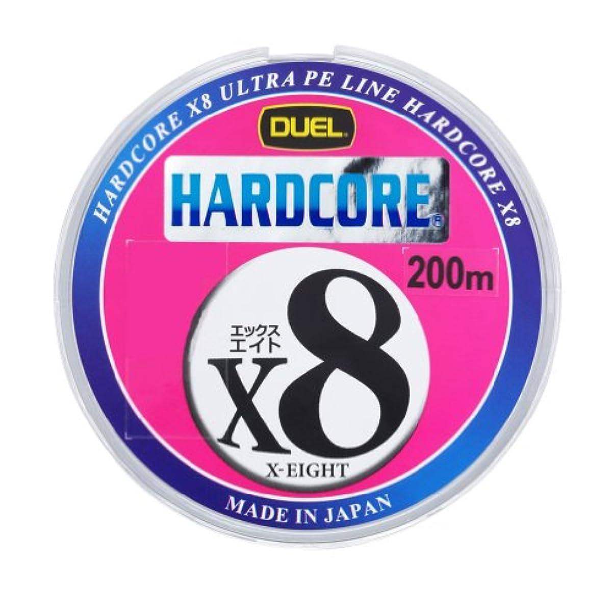 [해외] 듀엘 PE라인 하드 코어 X8 200M 마킹 시스템