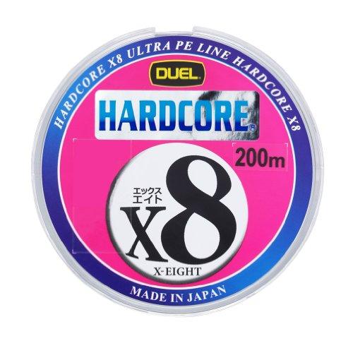 デュエル(DUEL) PEライン ハードコア X8 200m マーキングシステムの商品画像