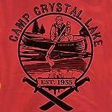 Camp Crystal Lake T-Shirt-Jason Friday the 13th shirt-XL-Red
