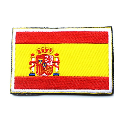 Spain Flag Patch - Spain Flag Patch Embroidered Military Tactical Flag Patches