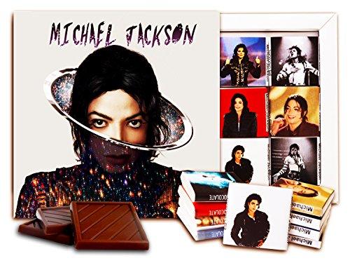 DA CHOCOLATE Candy Souvenir Michael Jackson Chocolate Set 5x5