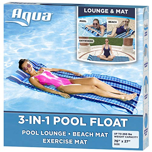 Aqua 3-In-1 Roll-Up Pool