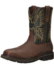 ARIAT Men's Sierra Wide Square Toe St Work Boot
