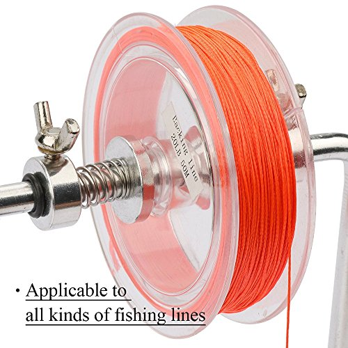 Goture portable fishing line winder reel spool spooler for Fishing line winder