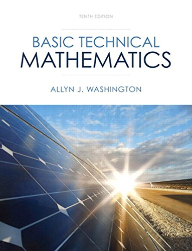 Basic Technical Mathematics with Calculus (10th Edition) Pdf