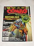 Combo Magazine April 1995 Volume 1 #3 Clyde Caldwell Sim City Bloodshot