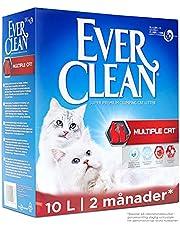 Ever Clean Multiple Cat kattsand, 10l, parfymerad