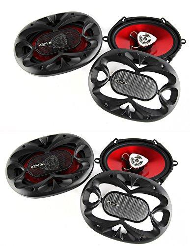 450 Watt Four Way Speakers (4) New BOSS CH5720 5