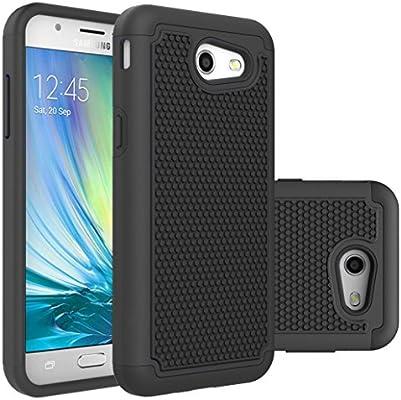 size 40 a366b dc685 Galaxy J3 Emerge Case,Galaxy J3 Prime Case,Galaxy J3 Luna Pro Case,J3  Eclipse Case,Galaxy Express/Amp Prime 2 Case,Asmart Armor Defender Cover ...