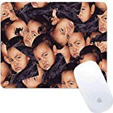 DISNEY COLLECTION Square Round Mouse Pad Kim Kardashian Light Slim Cartoon Cute Skid Proof Office Gaming Home Prevalent